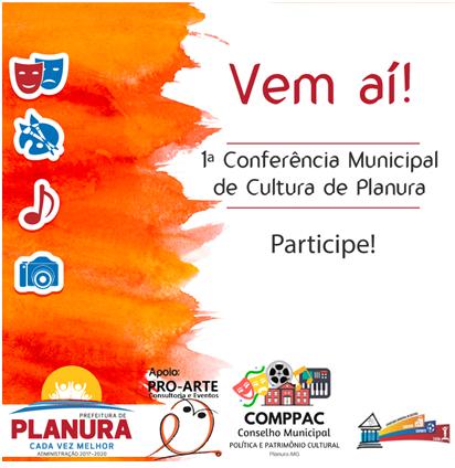 1° Conferencia Municipal de Cultura de Planura