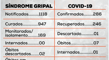 Boletim diario 05/11/2020 Covid 19
